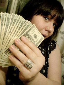 012 - Rich Girl with Cash