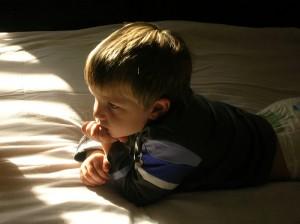pensive child_giovanni giusti